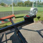 Ladewagen: Aufhängung der Seilwinde