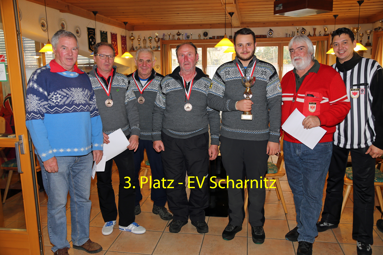 Rang 3 für EV Scharnitz