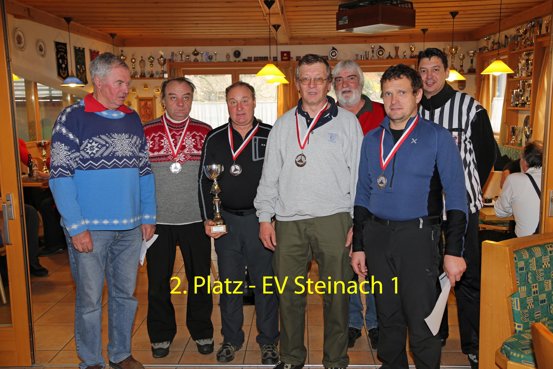 Rang 2 für EV Steinach 1