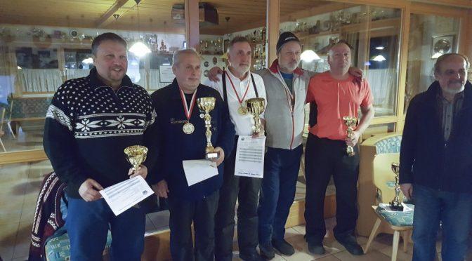 Die Sieger der BZM Zielbewreb Herren auf Eis